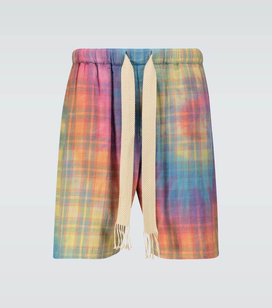 Paula's Ibiza checked shorts