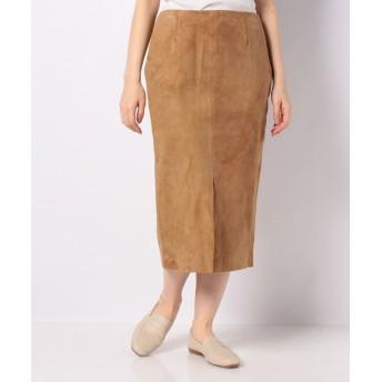 【80%OFF】 ベーセーストック Suede Skirt レディース カーキ 34 【B.C STOCK】 【セール開催中】