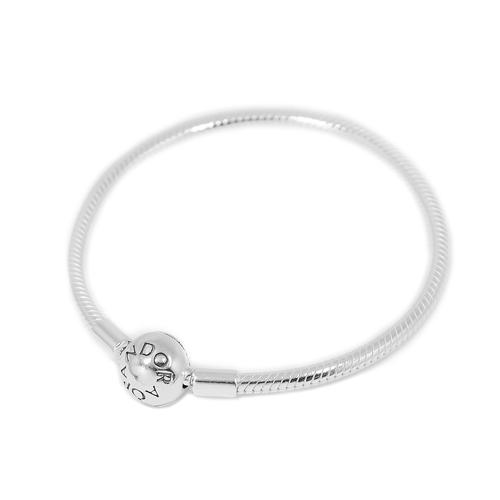 Pandora 潘朵拉 圓珠蛇鍊925純銀手鍊手環 590728