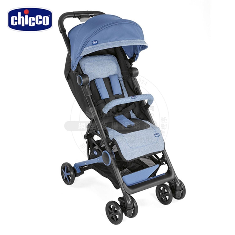 義大利 chicco - Miinimo2輕量摺疊手推車-鳶尾藍