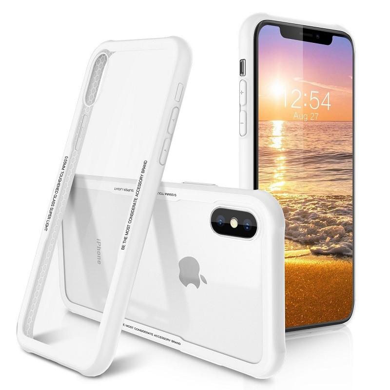 iPhone 鋼化玻璃手機殼 防摔手機殼 保護殼 鋼化玻璃 玻璃殼 用於 SE2 i11 XR i8 i7