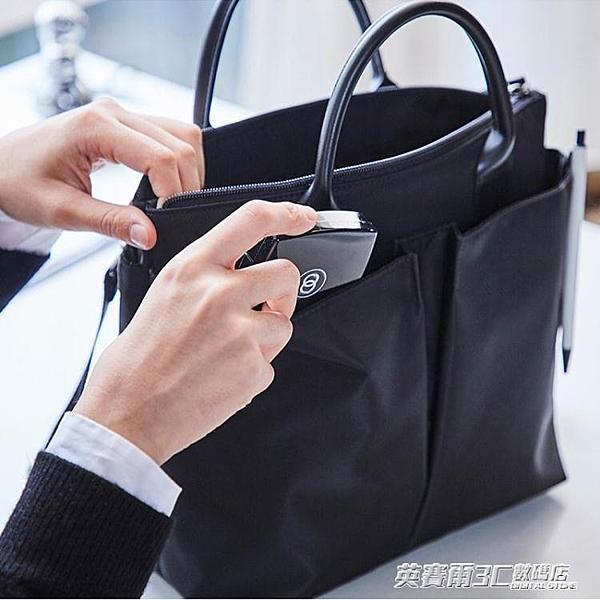 托特包 韓國尼龍公文包女職業手提單肩包托特文件包新款時尚商務包女 英賽爾