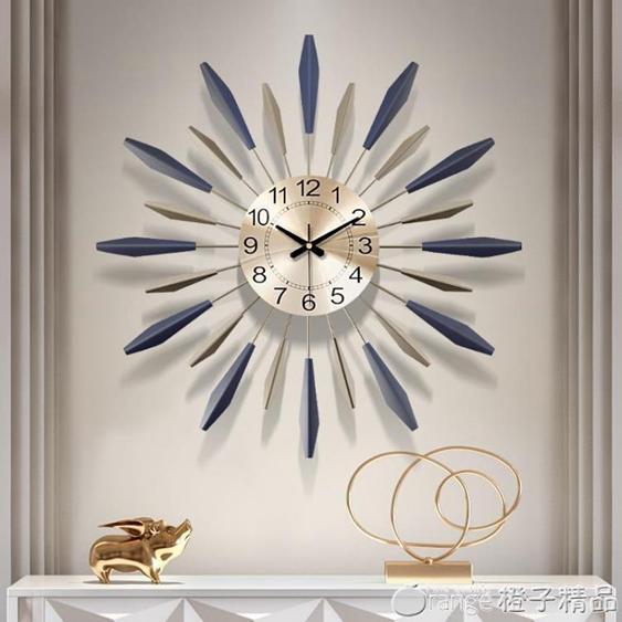 鐘表掛鐘客廳創意現代簡約時鐘個性大氣家用時尚裝飾藝術北歐掛鐘