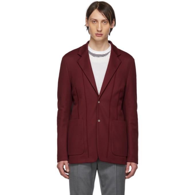 Maison Margiela 红色拼接西装外套