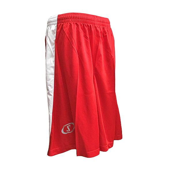 Spalding Basketball Shorts [SPB7201N20] 男 籃球 運動 短褲 透氣 單面 紅