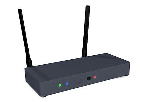 [國家科技] imshare ISR-1001-4 接收盒 無線投影伺服器 台灣製造(含傳屏器x2) 多人無線會議簡報系統
