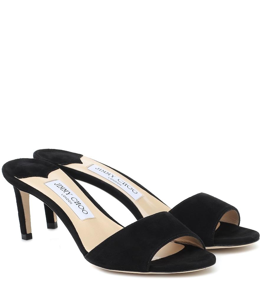 Stacey 65 suede sandals