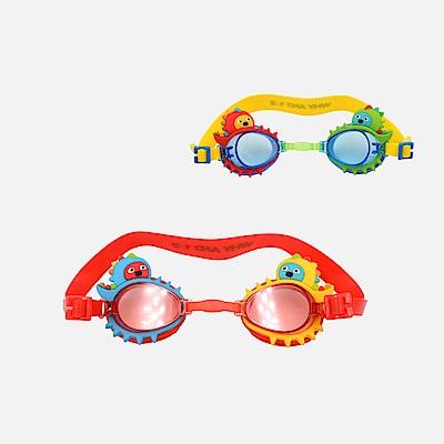 WHY AND 1/2 恐龍造型泳鏡-抗UV/防霧 多色可選