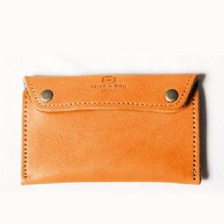 【福利品】皮革零錢卡片包 /雙夾層 /內裏羊毛氈 /可刻字 /DG12-2