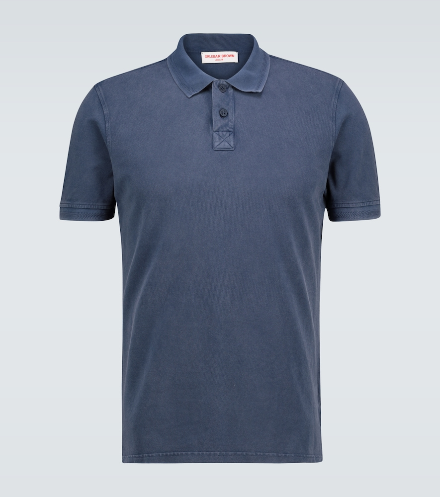 Jarret washed cotton polo shirt