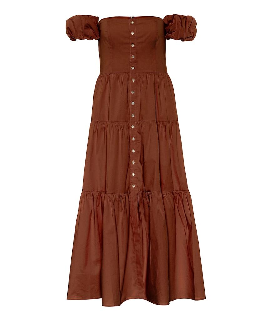 Elio cotton maxi dress