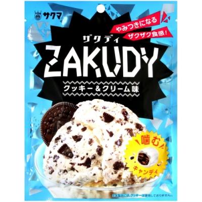 Sakuma 巧克力脆片冰淇淋風味糖(62g)