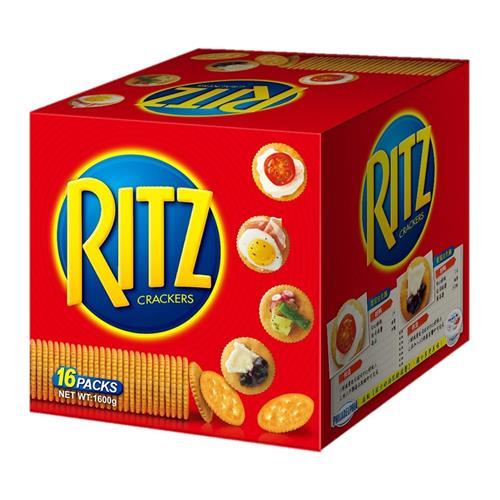 RITZ 麗滋小圓餅乾 100公克 X 16包