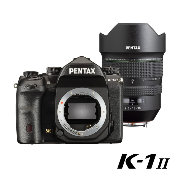 PENTAX K-1 II_黑色+HD DFA15-30mmF2.8ED SDM WR大光圈廣角變焦單鏡組【公司貨】