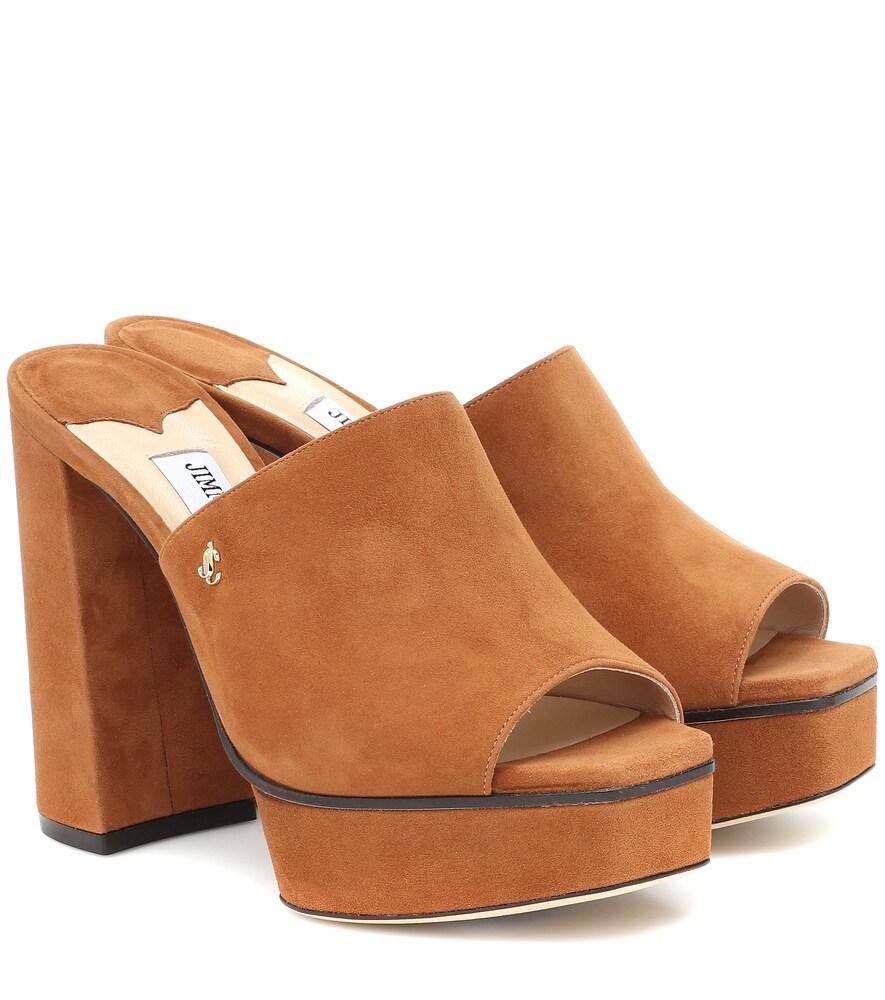 Sue 115 suede sandals