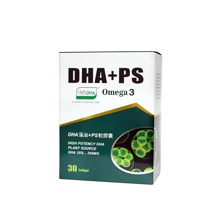 【草本之家】DHA藻油PS軟膠囊(30粒/盒)