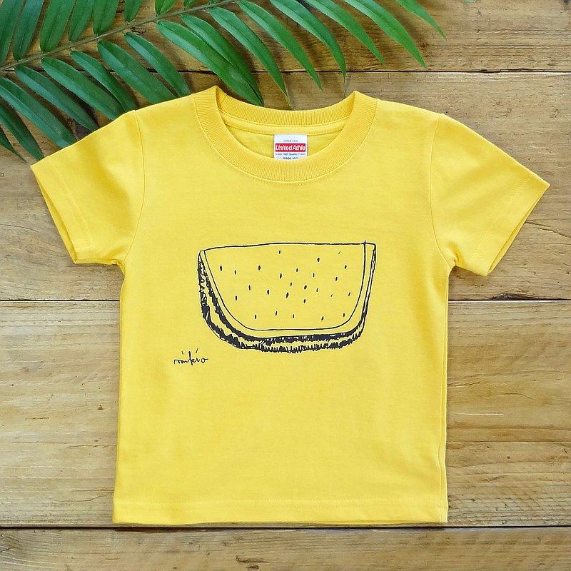 單色西瓜寶寶兒童t卹香蕉90100110120130140150