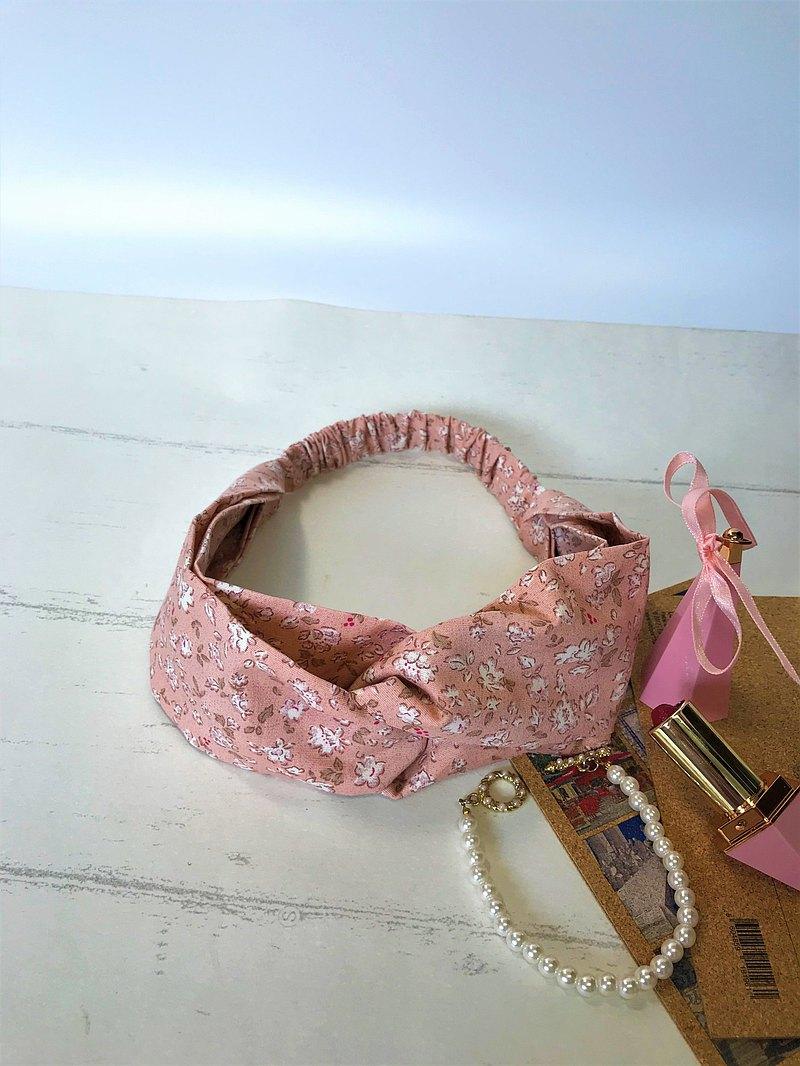 Fantasy【小白花】鬆緊髮帶、髮圈【粉膚色】