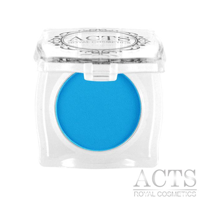 ACTS維詩彩妝 霧面純色眼影 正藍6301(2.3g)