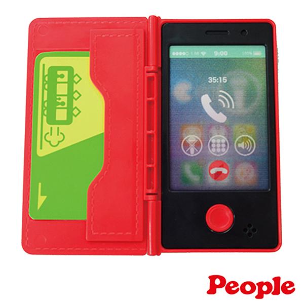 日本 People 寶寶的iT手機玩具 寶寶手機 音樂學習手機 聲光玩具 3669