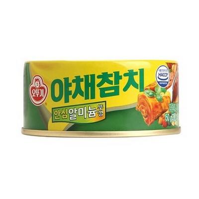 韓國 不倒翁OTTOGI 蔬菜鮪魚罐頭