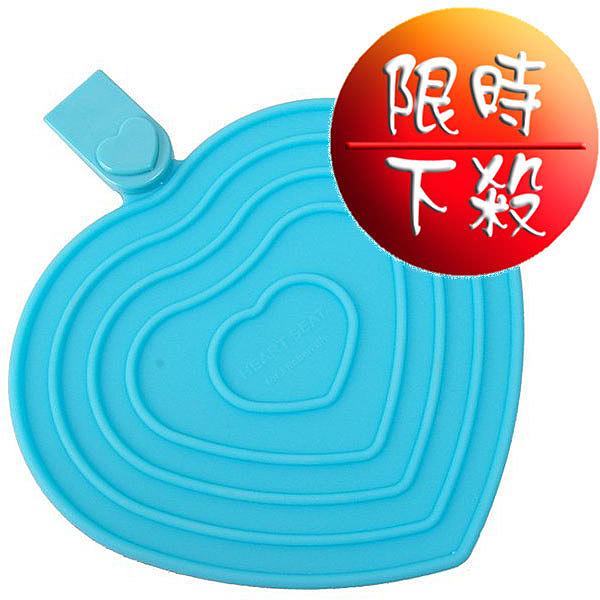 【天使心】多功能矽膠隔熱墊-海洋藍/嫩芽黃