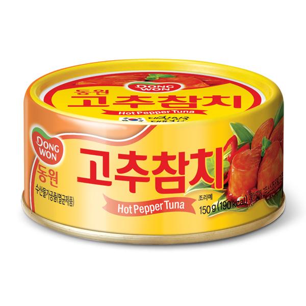 韓國 東遠 DONGWON 辣椒金槍魚 鮪魚罐頭 (辣味) 150G