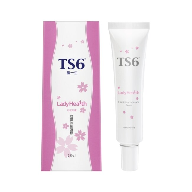 TS6護一生粉嫩淡色凝膠30g