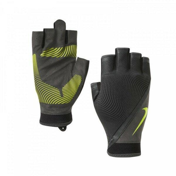 Nike Havoc Training Gloves [NLGB6079LG] 男 自行車 重量 動態 訓練 手套 黑黃