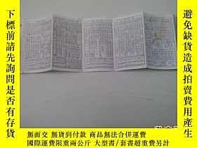 二手書博民逛書店旅客列車時刻表罕見1983 (摺疊本)18829 鐵道部運輸局