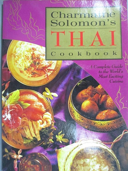 【書寶二手書T5/餐飲_D99】Charmaine Solomon s Thai Cookb