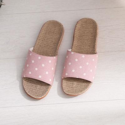 333家居鞋館 色彩繽紛室內拖鞋-粉色