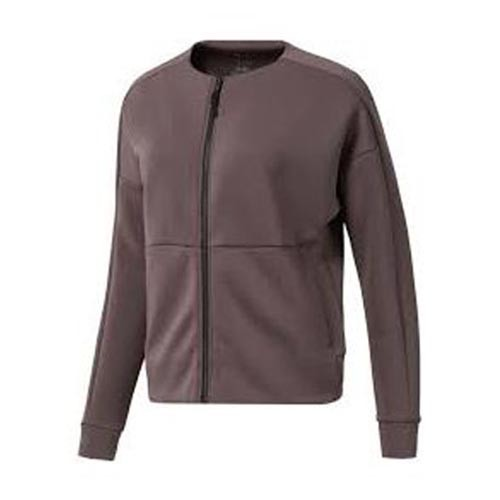 Reebok Training Full-Zip 女裝 外套 夾克 運動 休閒 訓練 拉鍊 紫【運動世界】D93920