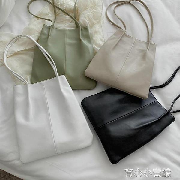 包包新款網紅大容量單肩包手提包背包書包中學生初中生托特包 育心館