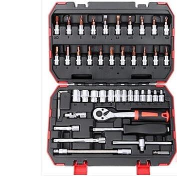 套筒扳手套裝棘輪汽修汽車修車五金工具箱 一木良品