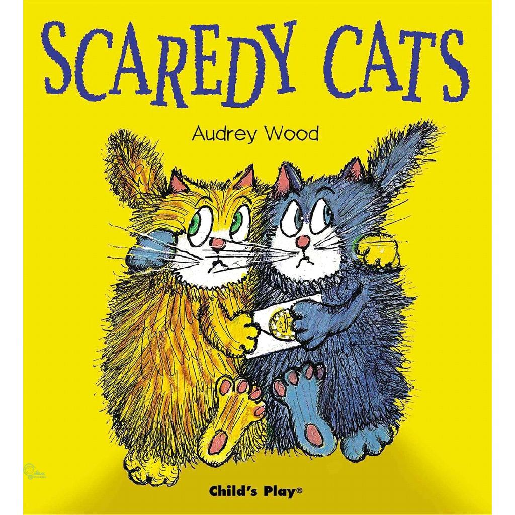Scaredy Cats (平裝本) 廖彩杏老師推薦有聲書第2年第2週【禮筑外文書店】[79折]