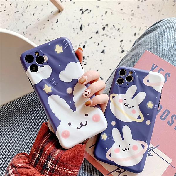 云朵星球小兔11Pro/Max蘋果X/XS/XR手機殼iPhone7p/8plus女創意套