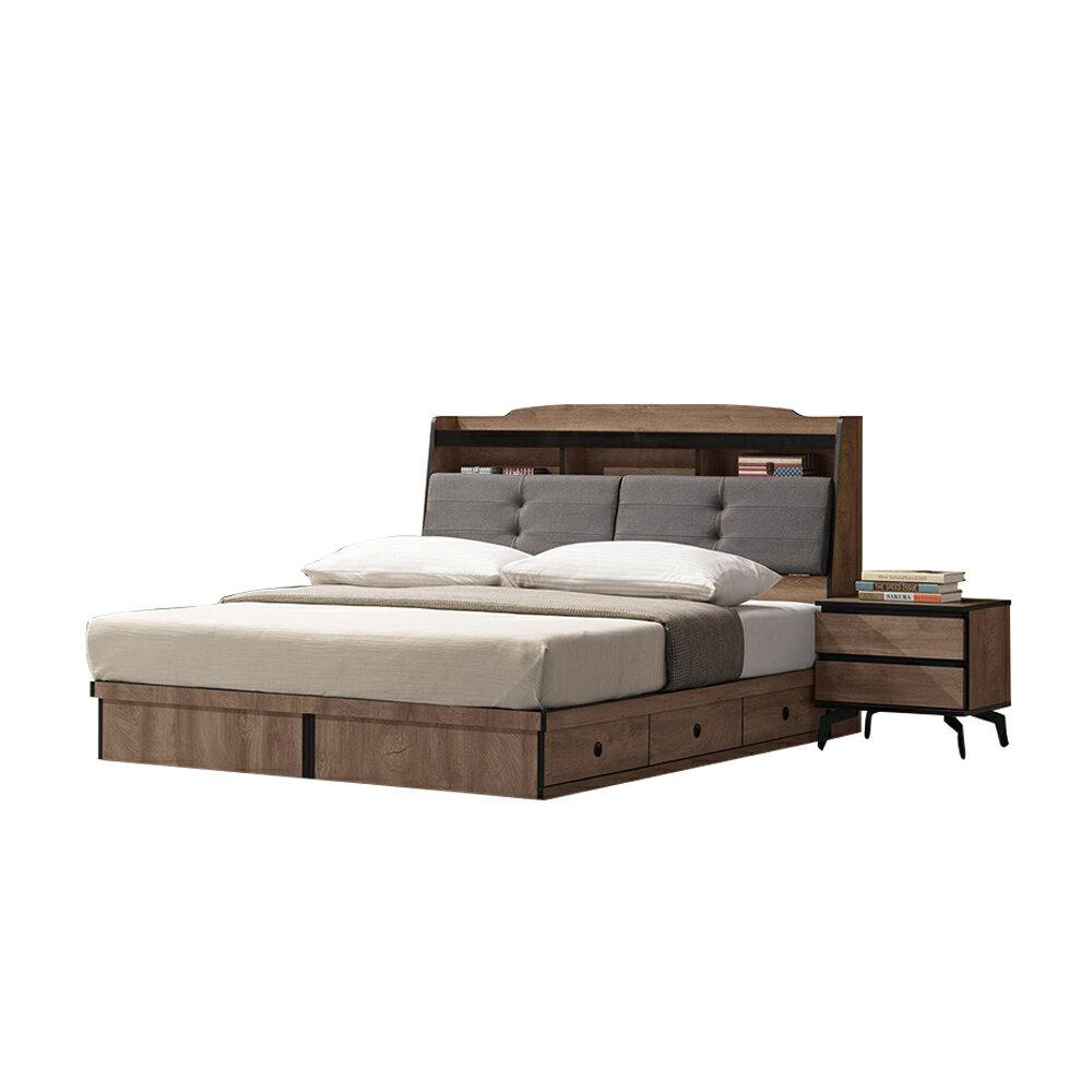 奧莉佛5尺床頭箱/H&D東稻家居-618購物節