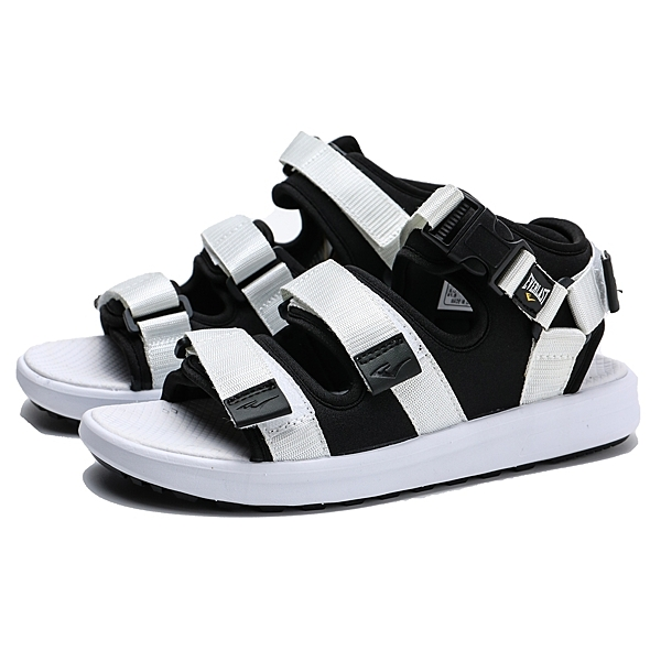 EVERLAST 涼鞋 灰黑 魔鬼氈 涼拖鞋 男 (布魯克林) 4925230100