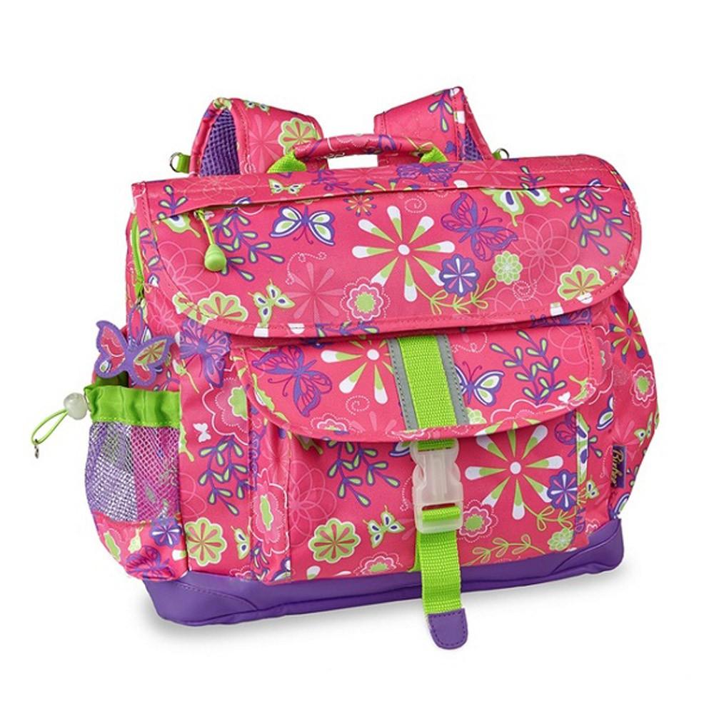 美國Bixbee彩印系列-彩蝶花園輕量舒壓背/書包 (中童 大童 兩個尺寸)