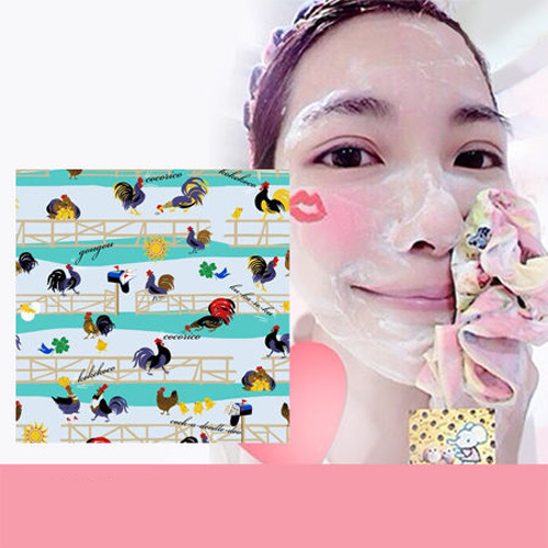 Pikka Pikka Y09 雞(POP) 林鴒 日本製 臉部毛孔潔淨布 洗臉布 花猴分享 熱賣中!