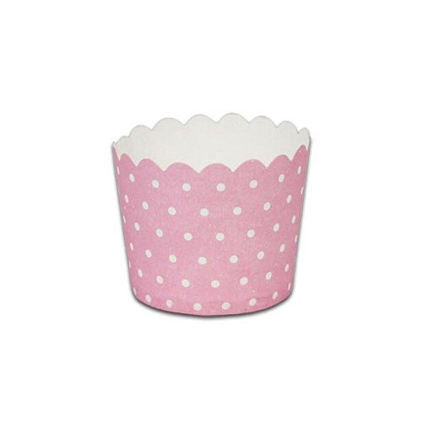 【MF6256】瑪芬杯、杯子蛋糕、烘烤紙杯(粉底圓點)(50個/包)