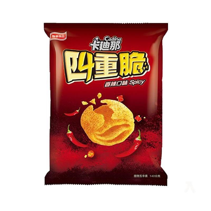 聯華卡迪那四重脆香辣口味142g【康鄰超市】
