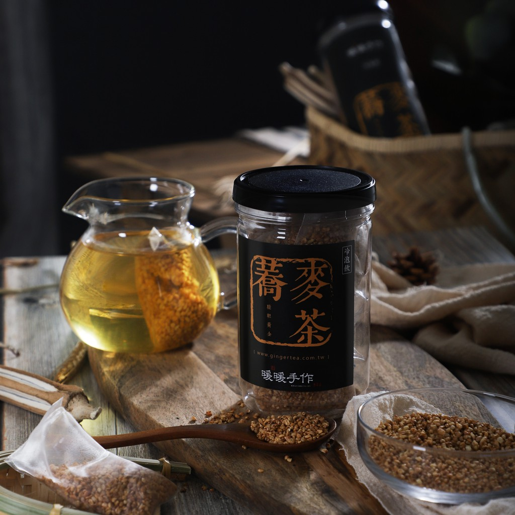 暖暖手作 X 韃靼黃金蕎麥茶 (10入/罐)