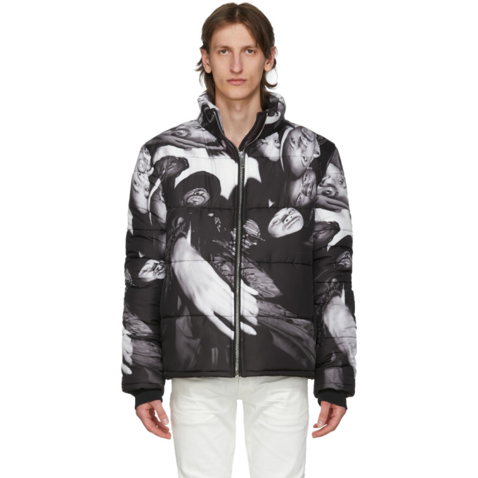 424 黑色 Wu-Tang 填充夹克