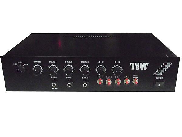 廣播音響 (客製化) 電話業務廣播.廣播主機80W+4分區喇叭控制 播放綜合廣播喇叭(定製品)