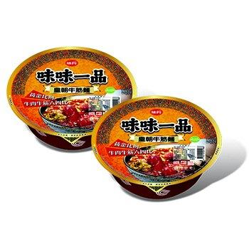 味丹 味味一品皇朝牛筋麵(185gx2入/組) [大買家]