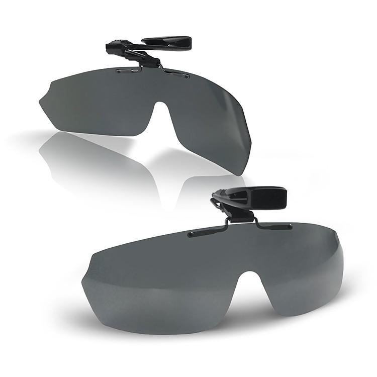 【匠人漁匠x浪人】帽夾墨鏡-墨鏡夾片 檢驗合格 偏光 抗眩光 抗UV 加強色彩 降低視覺疲勞 太陽眼鏡 墨鏡帽夾