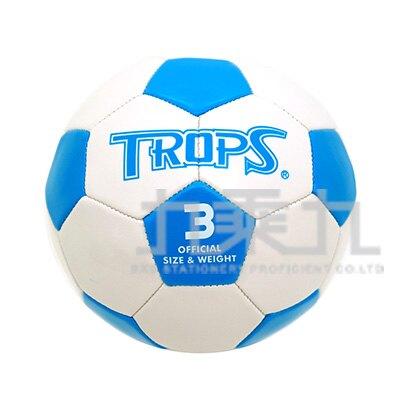 【618購物節 最低五折起】PVC 3號耐磨足球(白) 40263B