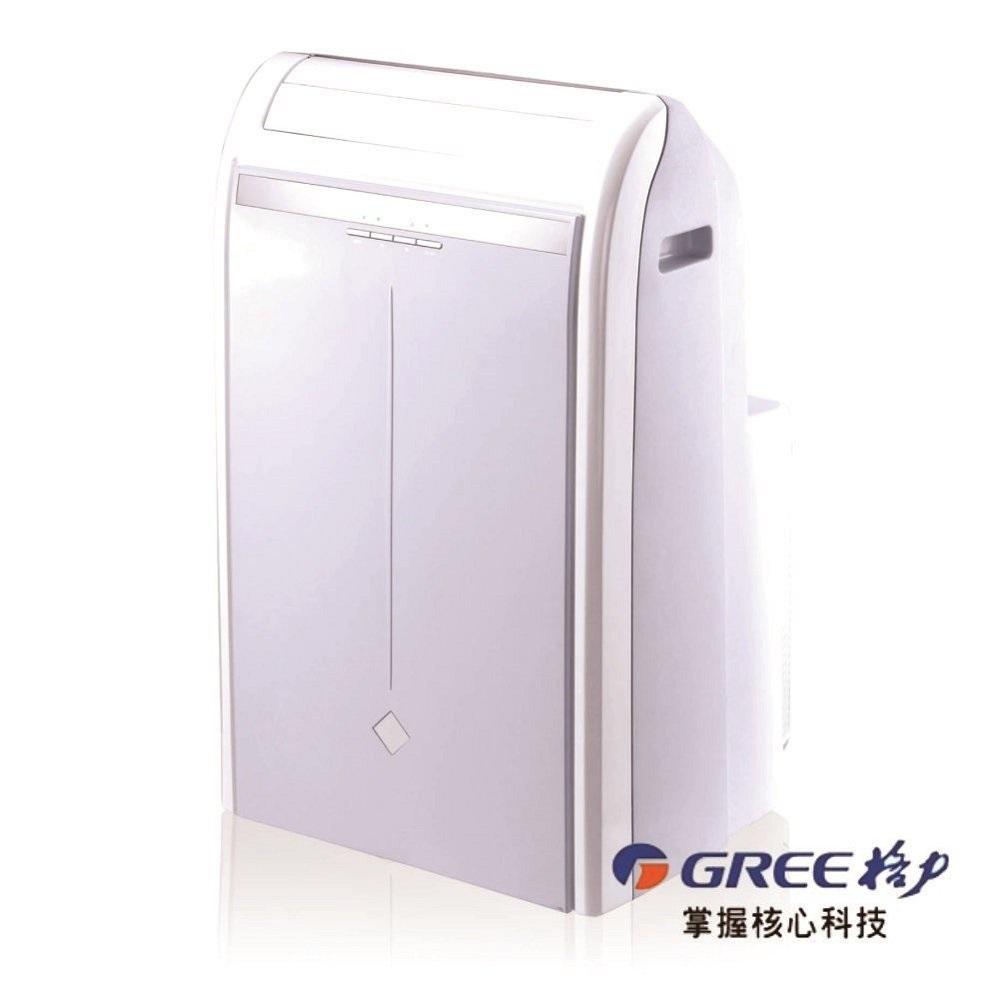 輜汽 GREE 格力 移動式空調機冷暖型 5-7坪適用免安裝 GPH12AE 適用5-7坪免安裝 隨插即用 一機多用 冷暖型電壓 110V 移動式冷氣